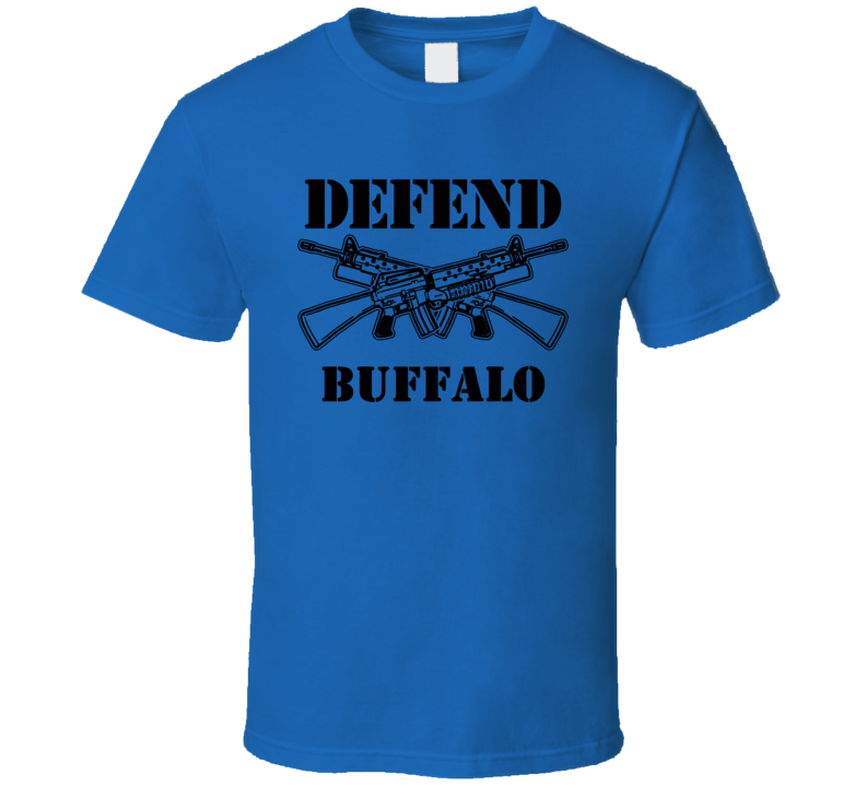 Buffalo Erie County New York State Defend T Shirt