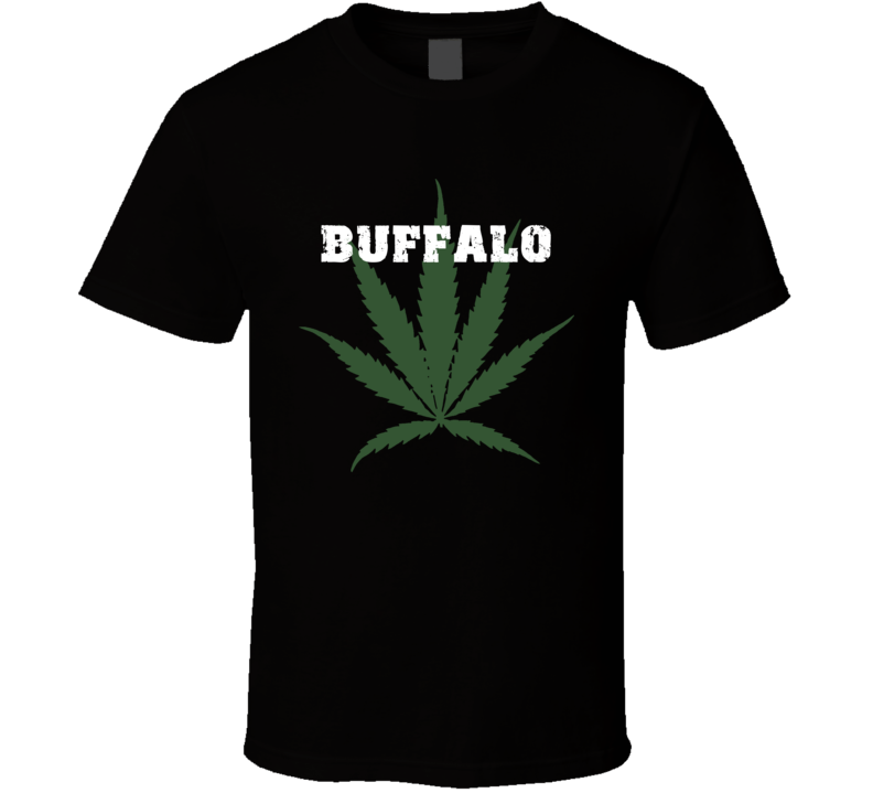 Buffalo Erie County New York State Weed Marijuana T Shirt