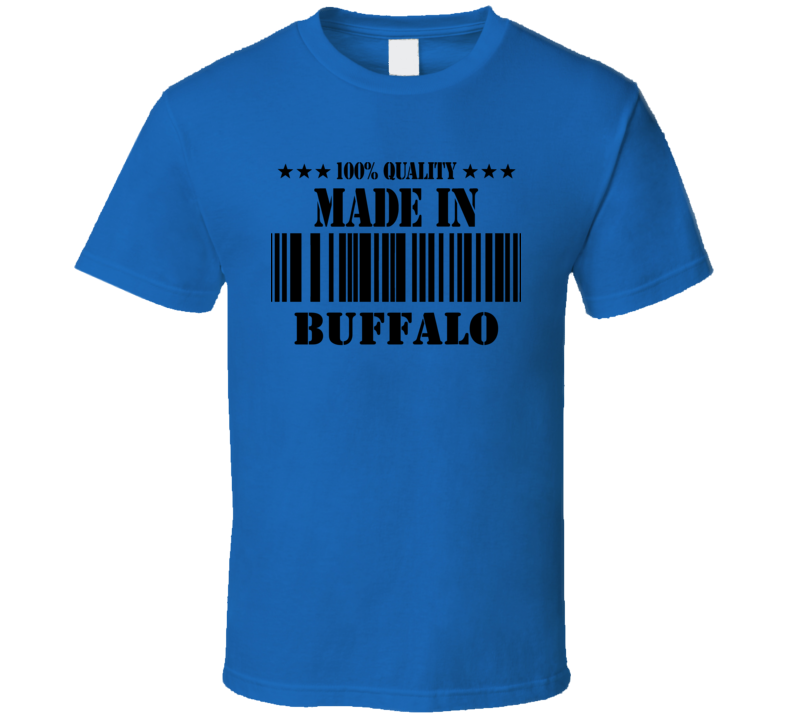 Buffalo Erie County New York State Made In Born T Shirt