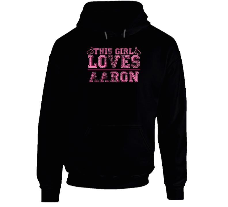 This Girl Loves Aaron TV Series Character Hooded Pullover