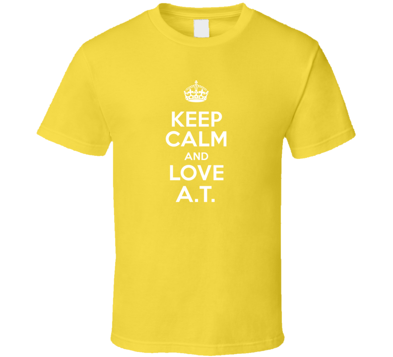 Keep Calm And Love A T Pride Name T Shirt