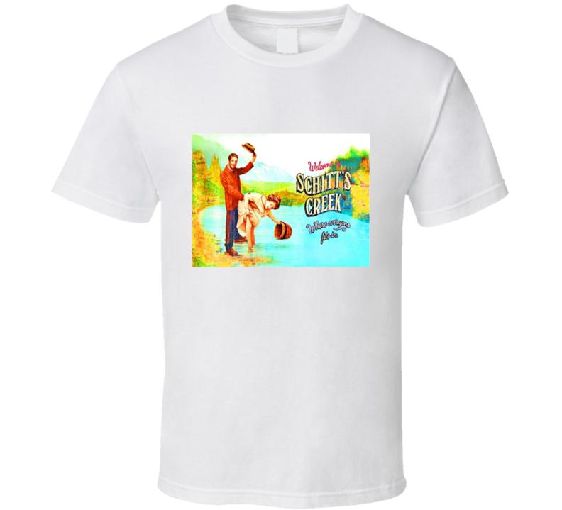 Welcome To Schitt's Creek Funny Schitts Creek Fan Gift T Shirt
