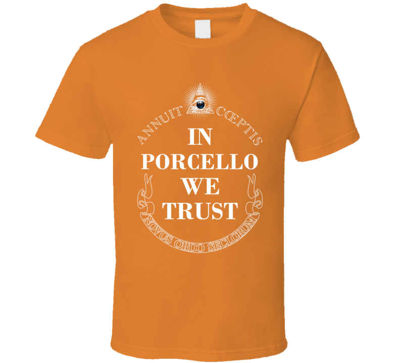 In Rick Porcello We Trust Detroit Baseball Fan Cotton T Shirt