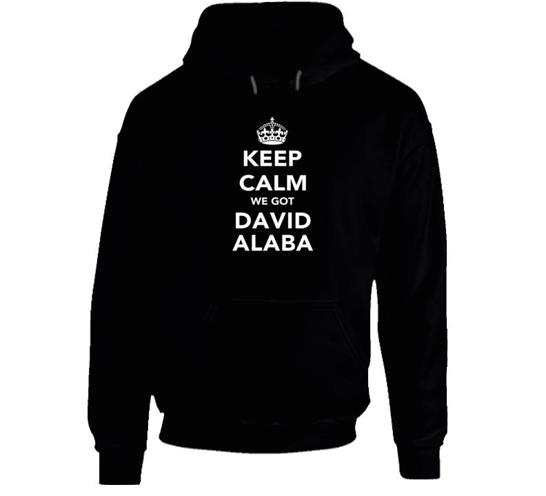 David Alaba Keep Calm Munich Soccer Fan Hoodie