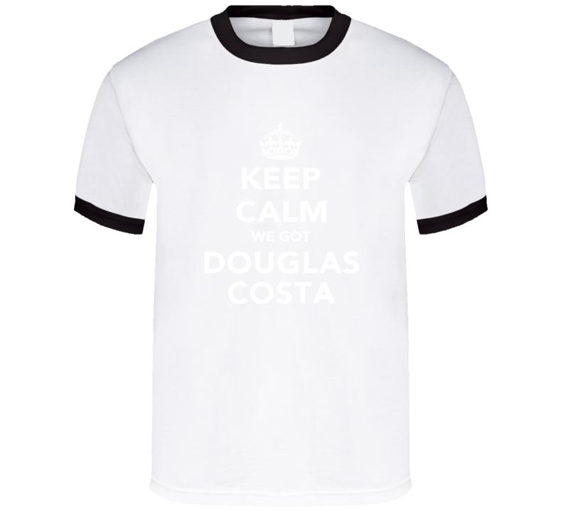Douglas Costa Keep Calm Munich Soccer Fan Cotton T Shirt