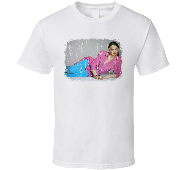 Crystal Gayle Great Country Music Cool Artist Worn Look T Shirt