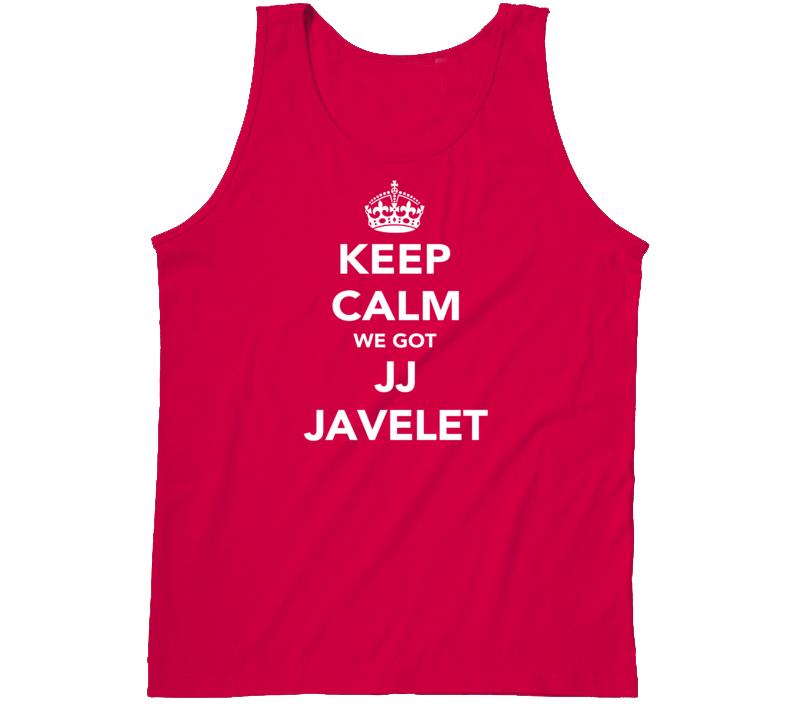 JJ Javelet Keep Calm Team USA Rugby Fan Faded Look Tanktop