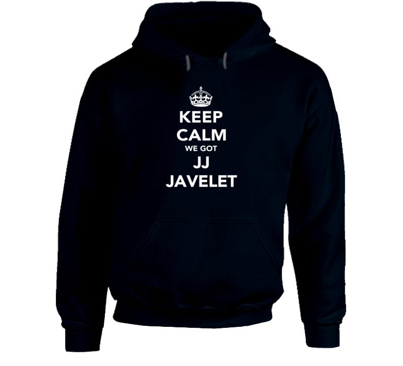 JJ Javelet Keep Calm Team USA Rugby Fan Faded Look Hoodie