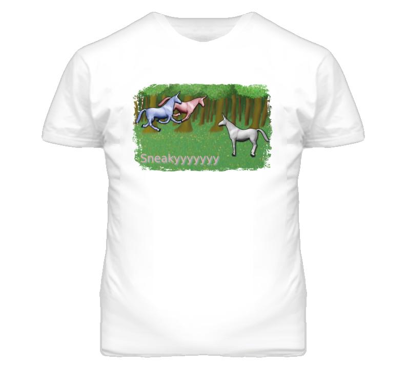 Charlie The Unicorn Popular Meme Funny T Shirt
