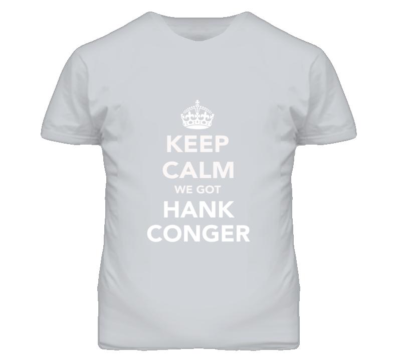 Keep Calm Hank Conger Angels Fan Mens Funny T Shirt