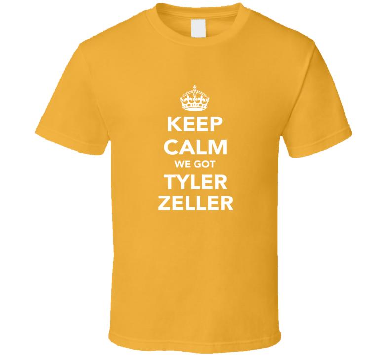 Tyler Zeller Boston Keep Calm Basketball Fan Ladies Funny T Shirt