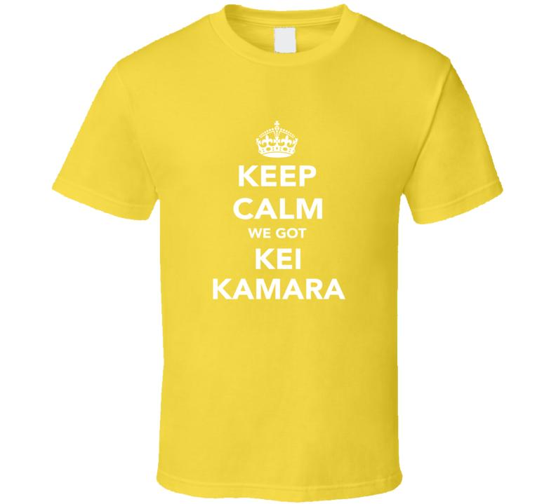 Kei Kamara Keep Calm Columbus Soccer Fan Parody Funny T Shirt