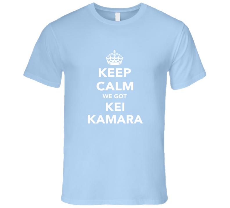 Kei Kamara Keep Calm Columbus Soccer Fan Mens Funny T Shirt