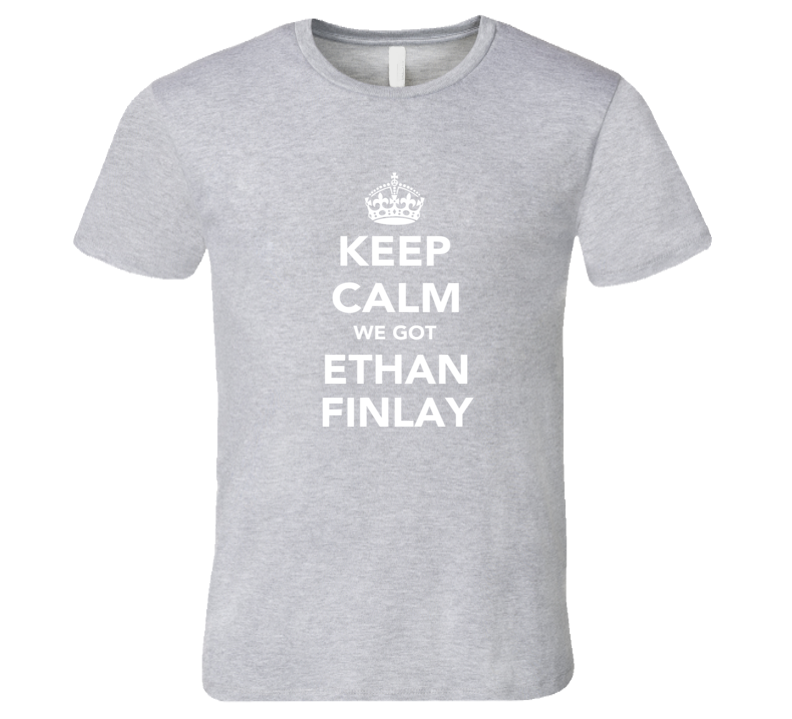 Ethan Finlay Keep Calm Columbus Soccer Fan Mens Funny T Shirt
