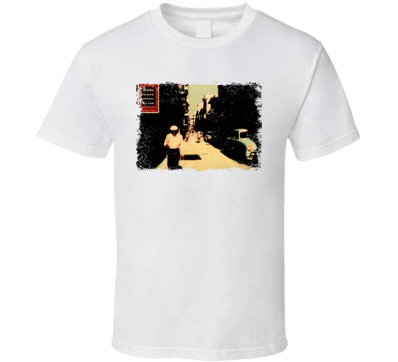 Buena Vista Social Club  Album Cover Worn Look T Shirt