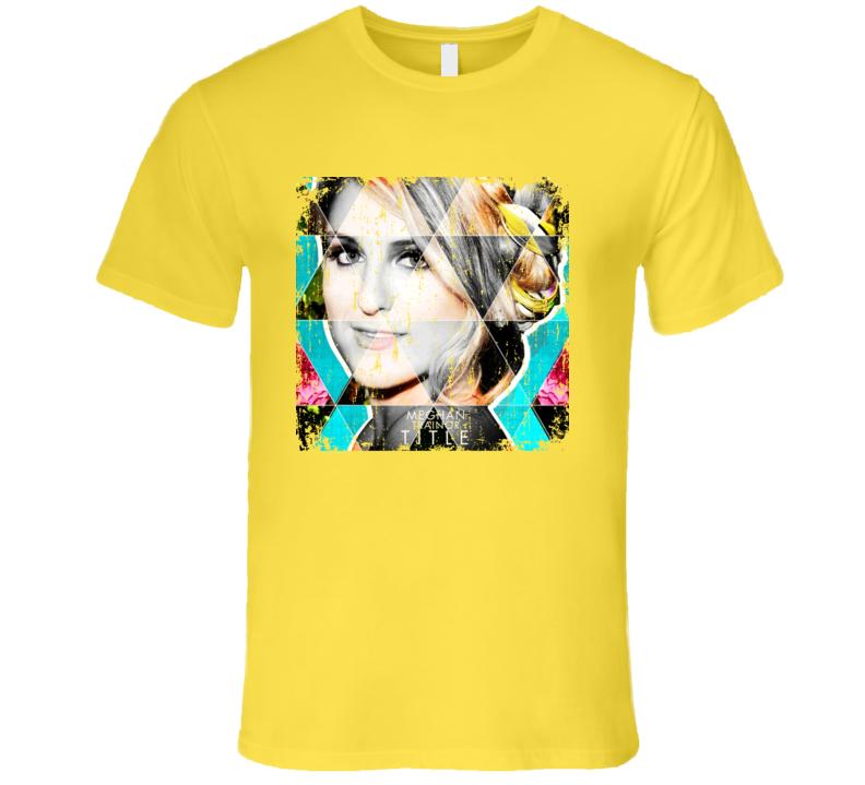 Meghan Trainor Title Worn Look Album Cover T Shirt
