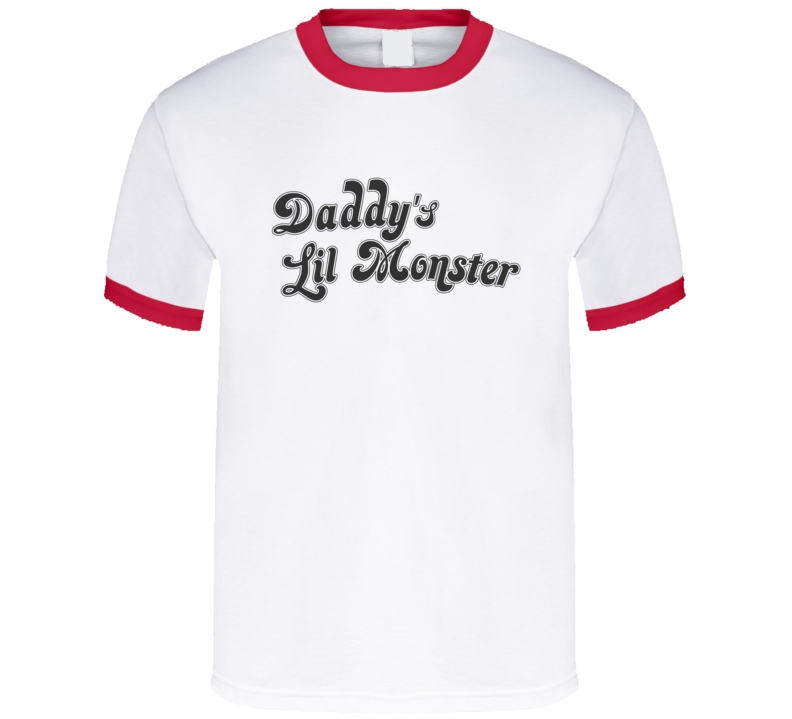 Daddy's Lil Monster Harley Quinn DC Comics Suicide Squad T Shirt