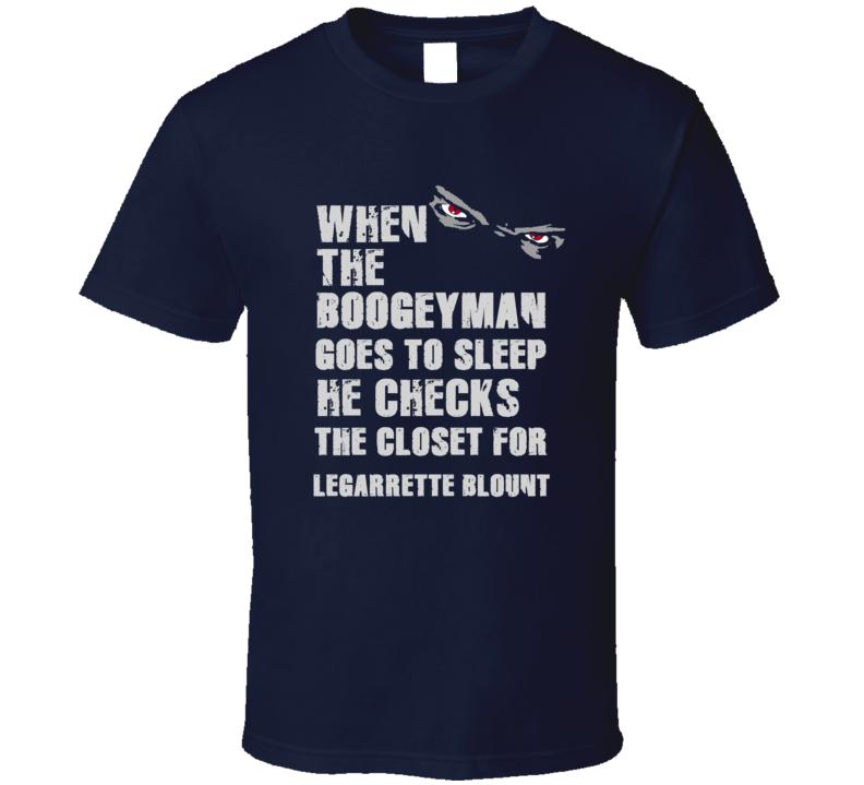 LeGarrette Blount Boogeyman Football Sports New England T Shirt