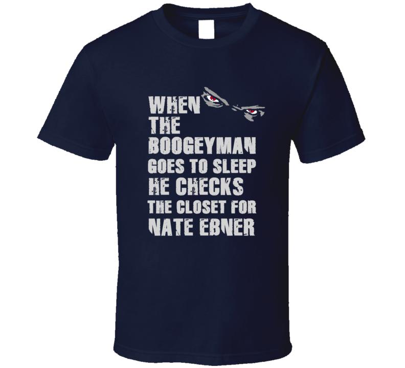 Nate Ebner Boogeyman Football Sports New England T Shirt