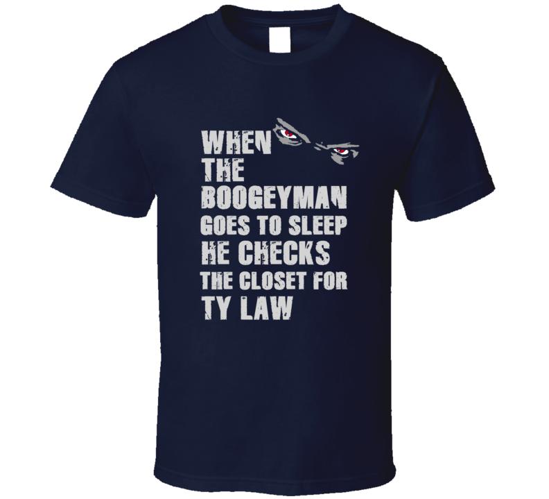 Ty Law Boogeyman Football Sports New England T Shirt