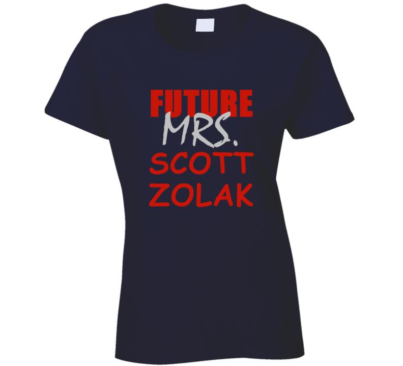 Scott Zolak Future Mrs Football Sports New England T Shirt