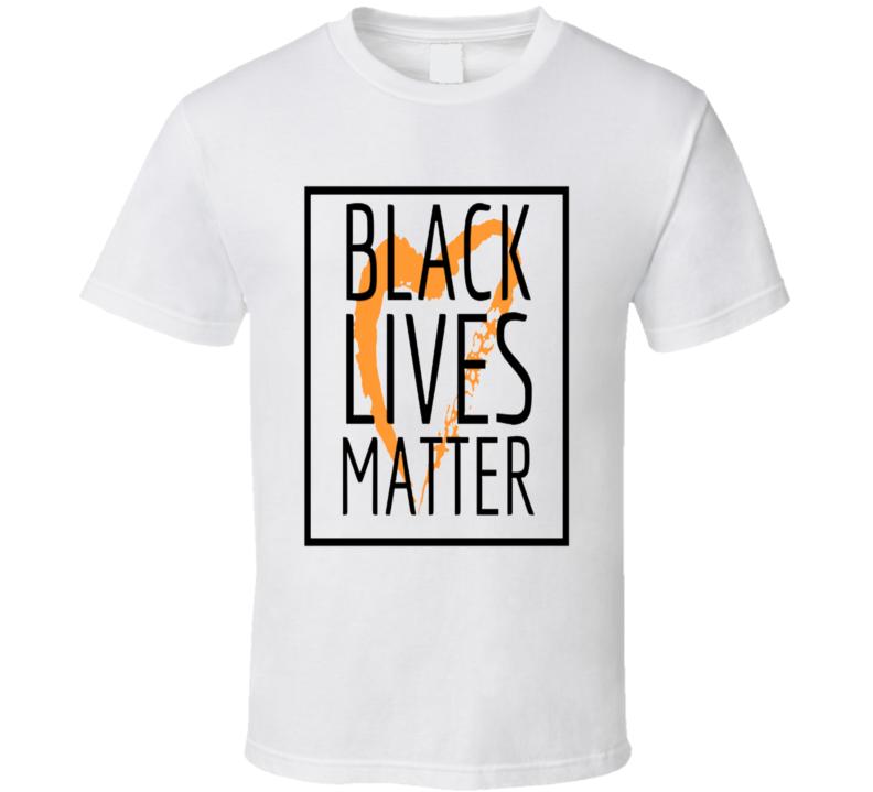 Heartful Black Lives Matter T Shirt