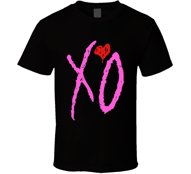 I Love You Like XO with Red Emblem Graphic Unisex T Shirt