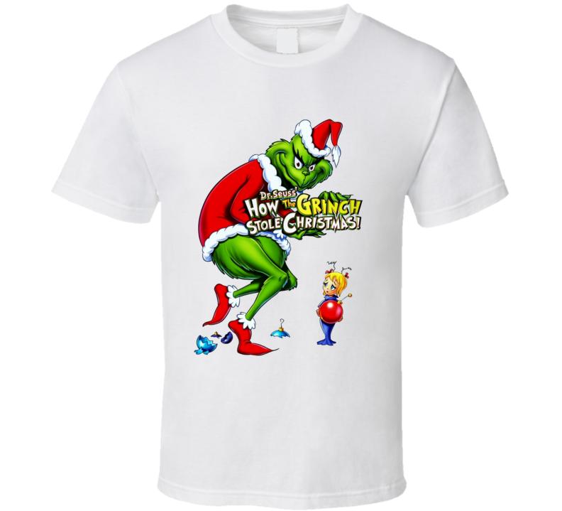 Dr. Seuss' How The Grinch Stole Christmas Unisex T Shirt