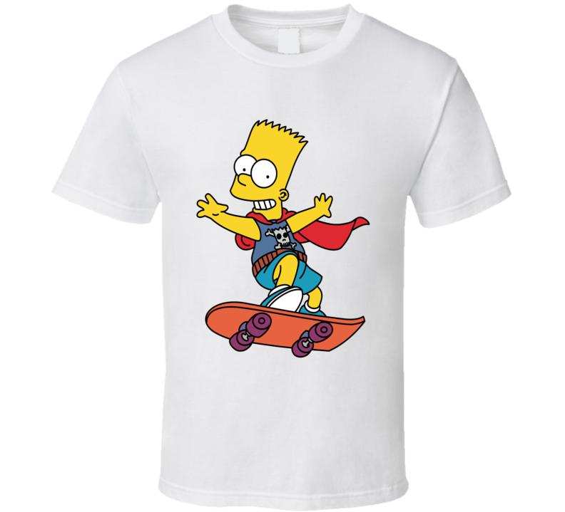 The Simpsons - Bart Simpson Unisex T Shirt