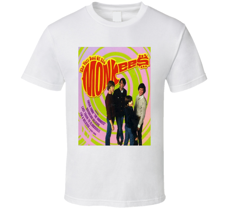 Vintage The Monkees Pop Band Unisex T Shirt