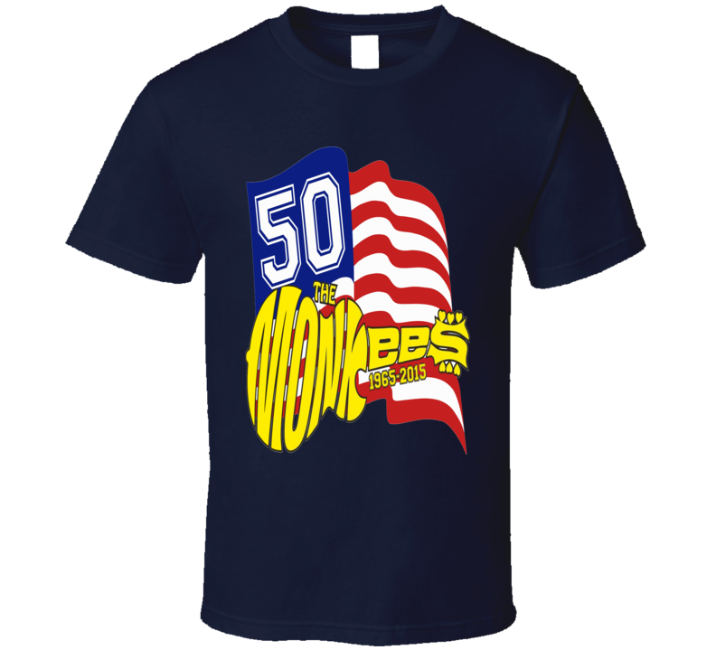 The Monkees Pop Band T Shirt - Unisex Fit
