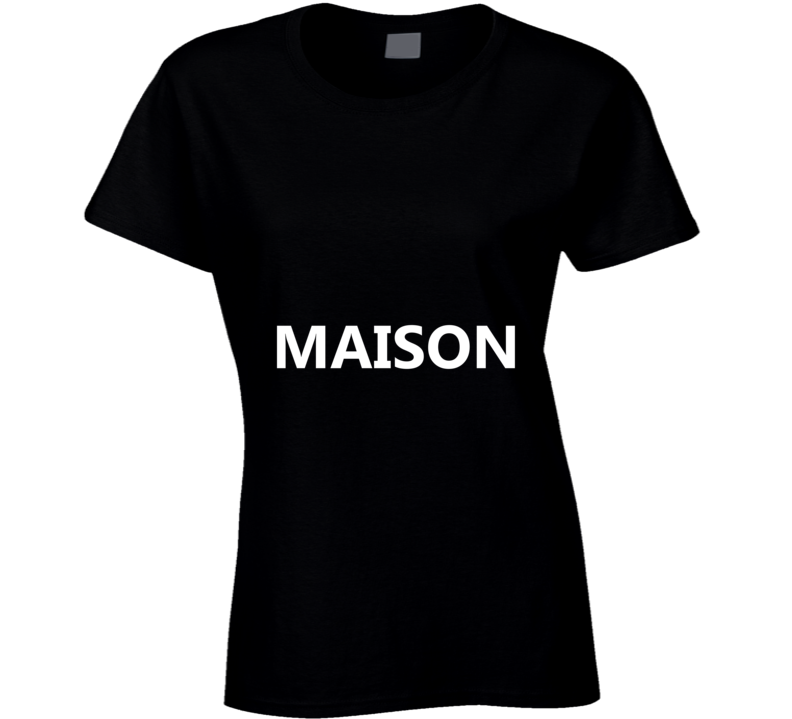 MAISON Graphic Ladies Fitted T Shirt