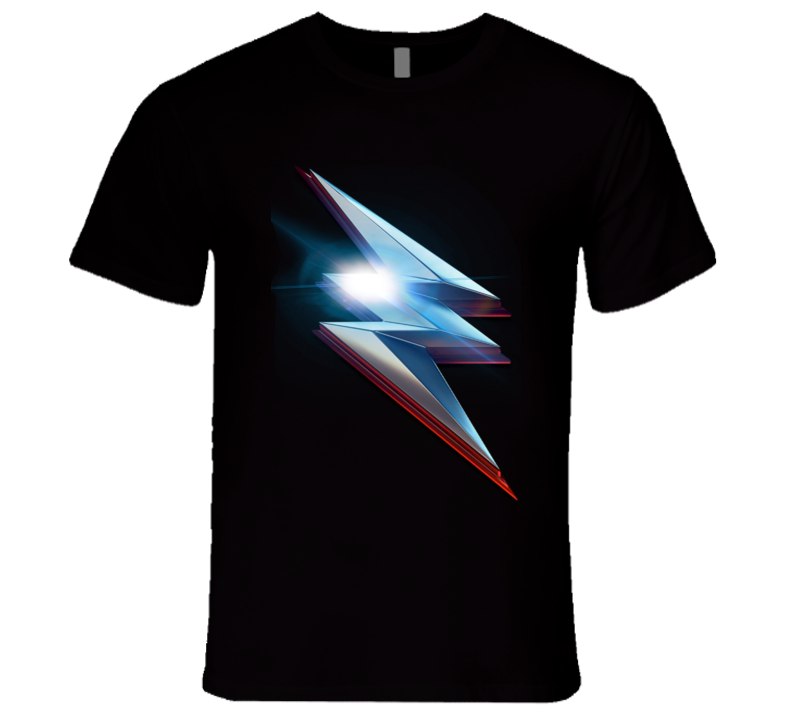 Power Rangers Bolt Men's Fitted T Shirt