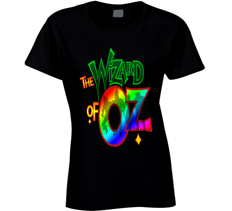 The Wizard of Oz T Shirt - Ladies Fitted T Shirt