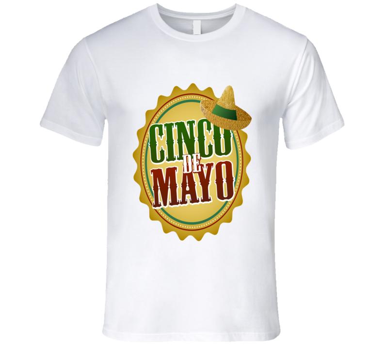 Let's Celebrate Cinco De Mayo Men's Fitted T Shirt