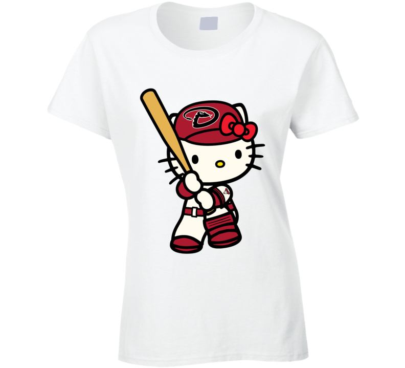 Hello Kitty Shirts, Hello Kitty Arizona Diamondbacks Shirts, Hello Kitty Sports Team Shirts T Shirt