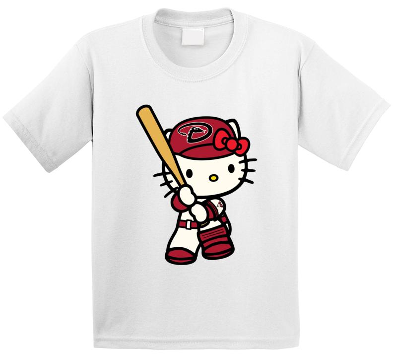 Hello Kitty Dodgers Shirts, Hello Kitty Sports Team Shirts, Kids Unisex T Shirt