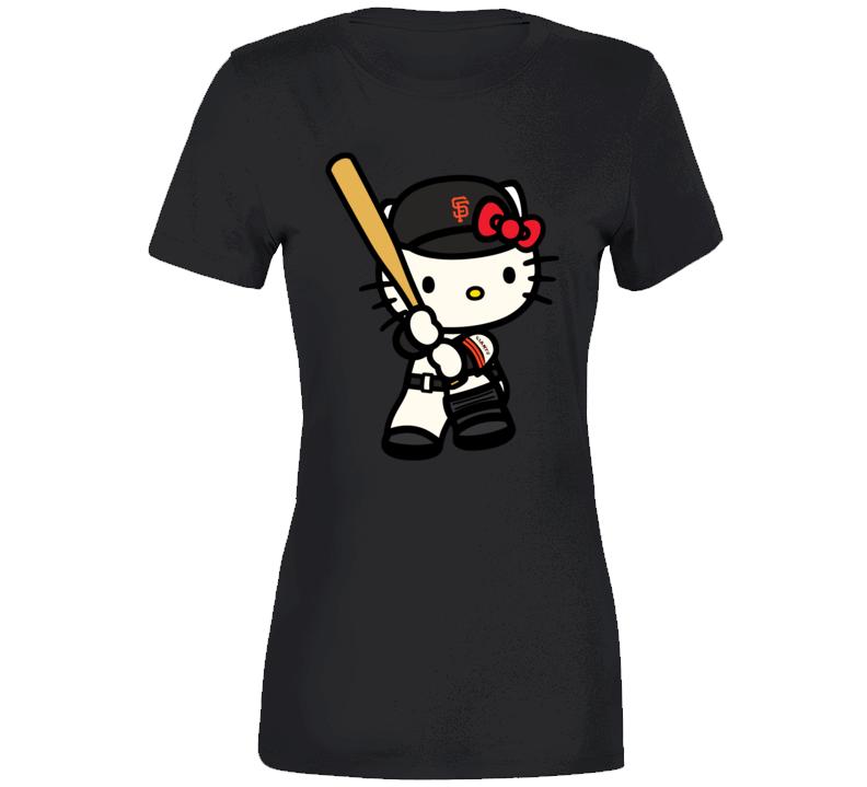 Hello Kitty Shirts, Hello Kitty San Francisco Giants Shirts, Hello Kitty Sports Team Shirts T Shirt