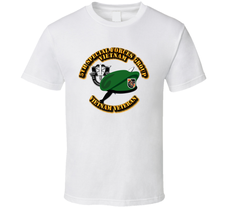 5th Special Forces - Vietnam T Shirt
