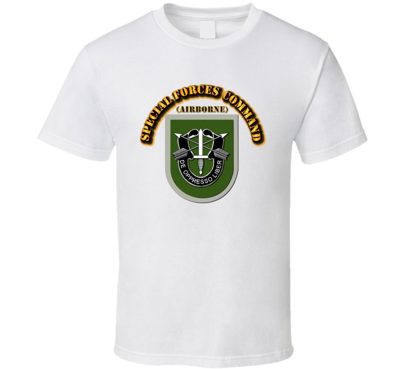 Special Forces Command T Shirt