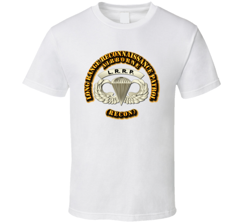 SOF - Airborne Badge - LRRP1 T Shirt