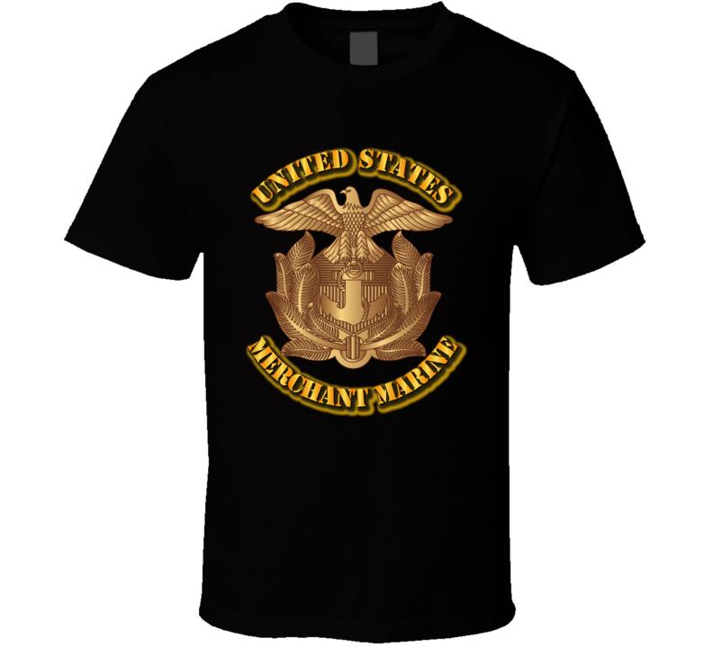 United States Merchant Marine T Shirt