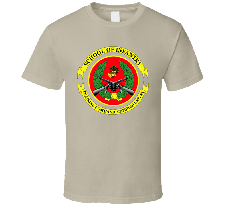 USMC - School of Infantry - Camp Geiger T Shirt
