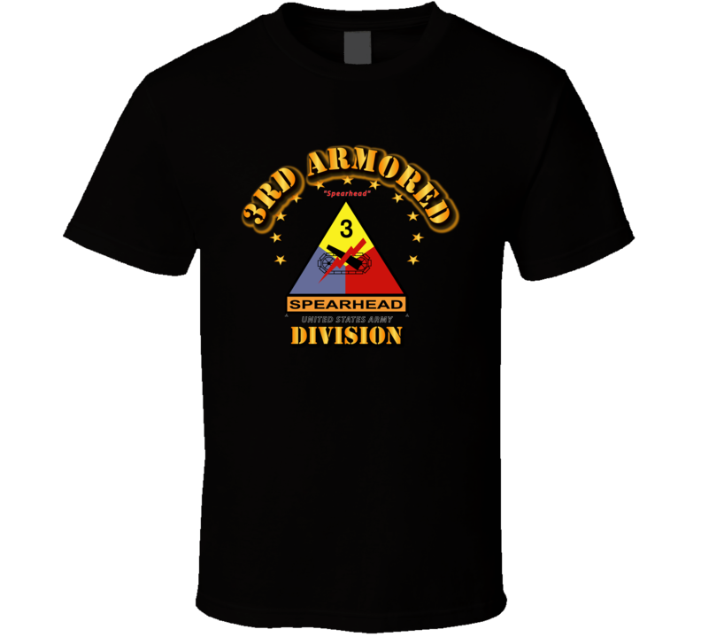 3rd Armored Division - Spearhead T Shirt