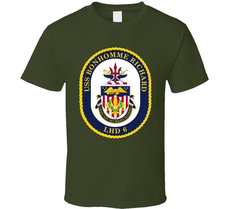 USS Bonhomme Richard (LHD 6) T Shirt