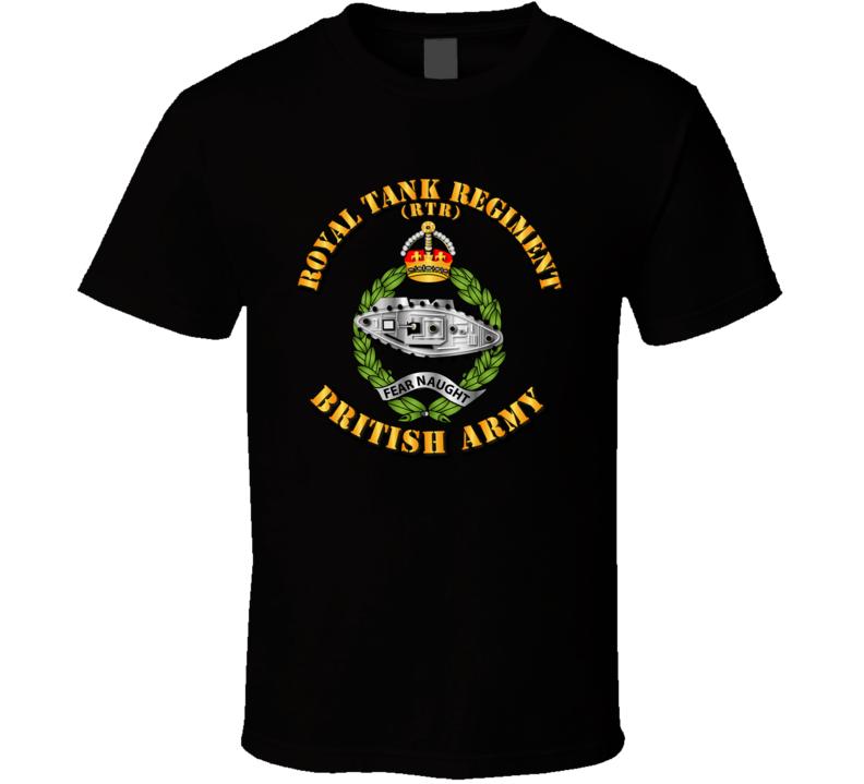 UK - Royal Tank Regiment T Shirt