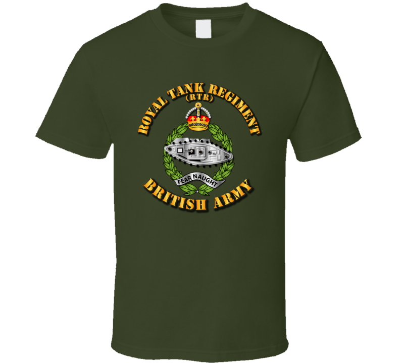 UK - Royal Tank Regiment T Shirt