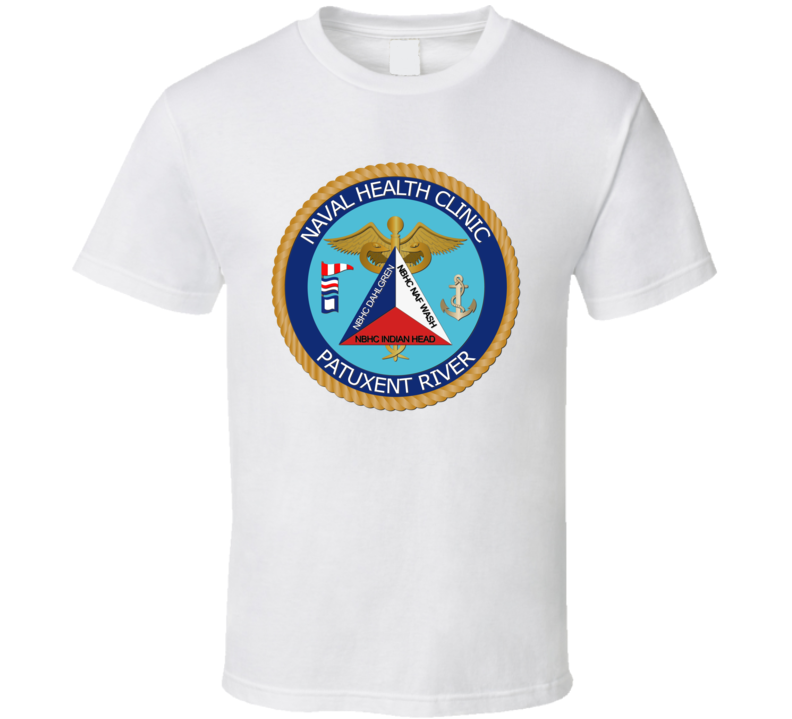 Naval Health Clinic Patuxent River without Text T Shirt