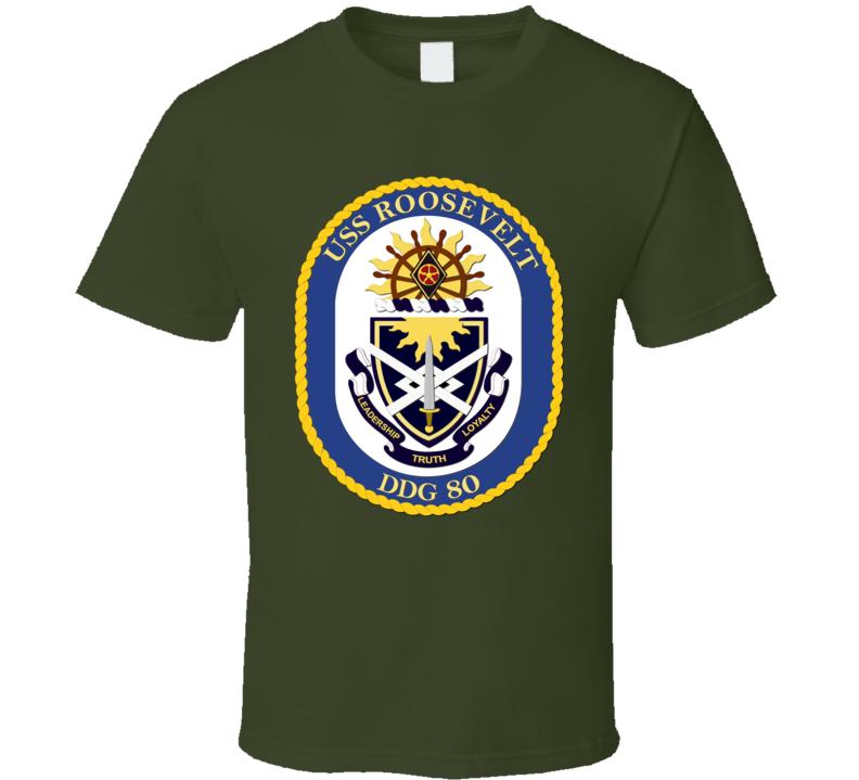 USS Rosevelt T Shirt