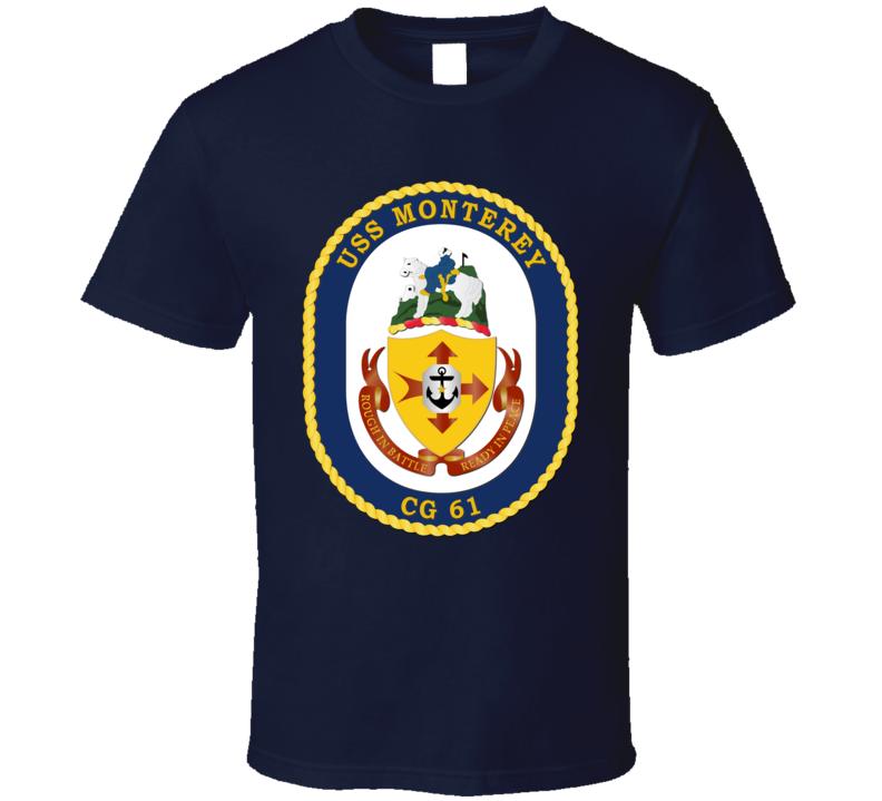 USS Monterey T Shirt